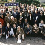Some of the 250 scientists of the Pierre Auger collaboration, which encompasses 33 institutions in 16 countries.