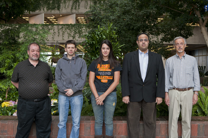 Michael Humphries-Dolnick, CD; Pietro Giannelli, TD; Martina Cancelo, PPD; Anurag Chadha, CD; and Carlos Escobar, PPD.