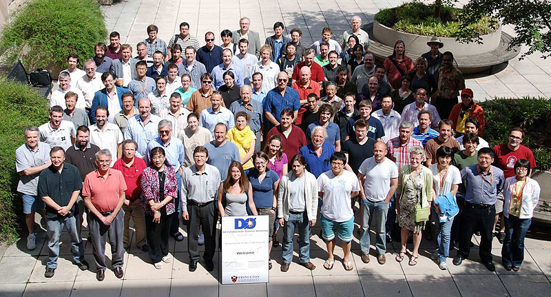 More than 100 scientists attended the latest DZero collaboration meeting, which took place June 13 at Princeton University. The meeting focused on analyzing the full Run II DZero data set.