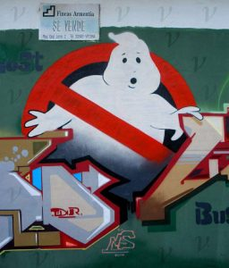 Ghostly neutrinos are more difficult to capture than ghosts, but the famed ghostbusting crew of New York City managed to get the job done — and then some.