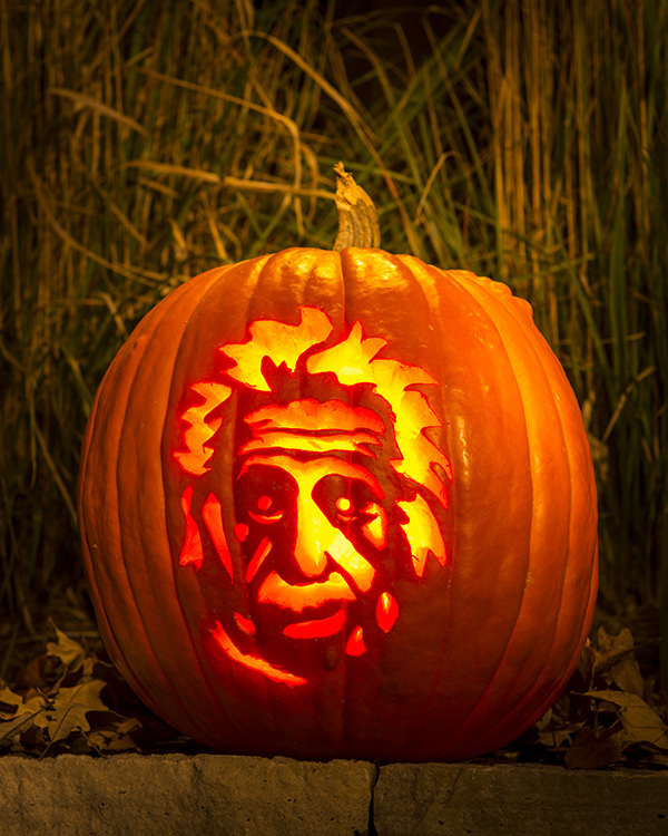 He's watching you: The spirit of Einstein continues to burn bright, almost 60 years after his death, in unexpected places. That's some spooky action.