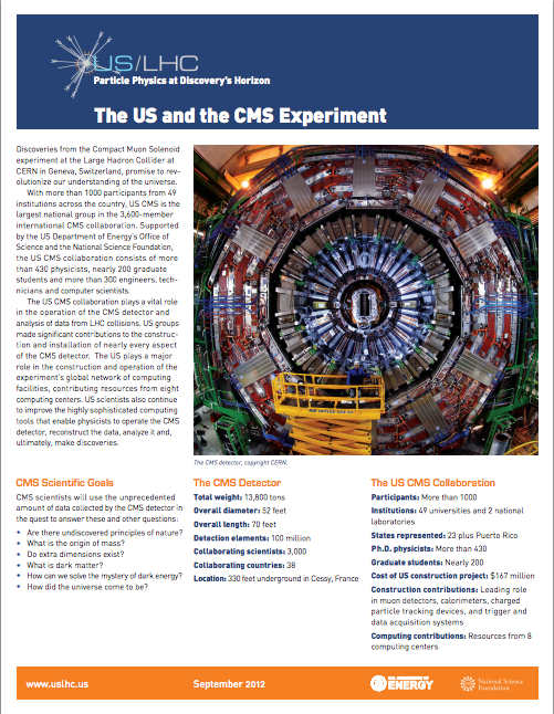 The US and the CMS Experiment