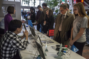 More than 140 professionals in the science, technology, engineering and mathematics fields are scheduled to attend Fermilab's STEM Career Expo on Wednesday, April 22. Photo: Fermilab