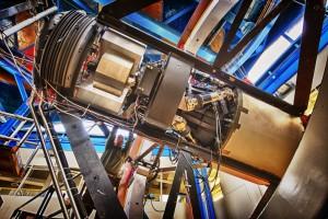 The prototype Dark Energy Camera installed at Fermilab in Batavia, Illinois. Credit: Reidar Hahn/Fermilab