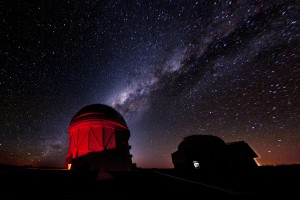 Stars over the Cerro Tololo Inter-American Observatory in Chile. Credit: Reidar Hahn/Fermilab