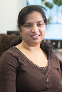 As chief of staff for the Directorate, Hema Ramamoorthi is key to the LBNF/DUNE program. Photo: Reidar Hahn
