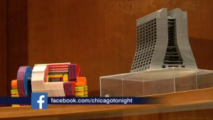 3-D models of the CMS detector and Wilson Hall can now be seen on WTTW's Chicago Tonight. Go to minute 46 of the July 20 episode to see the models.