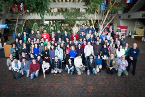 Graduate students convened for one week at Fermilab for the sixth annual CMS Data Analysis School, hosted by the LHC Physics Center. Photo: Jesus Orduna
