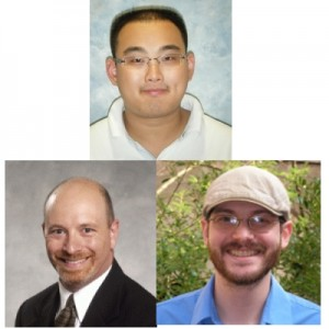 The primary analysts for this measurement are Ziqing Hong (top, Texas A&M University, now at Northwestern University), Dave Toback (bottom left, TAMU) and Jon Wilson (TAMU).