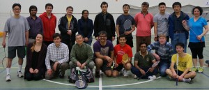 Fermilab Badminton held its first tournament on March 12, 2016.