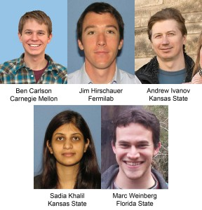 These U.S. physicists contributed to this analysis.
