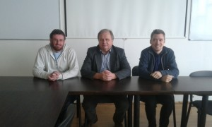 The primary analysts for this analysis are, from left, Pavol Bartos, Stano Tokar and Oliver Majersky, all from Comenius University, Bratislava, Slovakia.