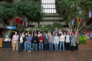 Participants of the Electroweak and Compressed SUSY Event at the LHC Physics Center met at Fermilab last week. Photo: Jesus Orduna
