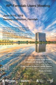 Register for the 2016 Fermilab Users Meeting today.
