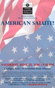 DSO American Salute
