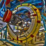 Dark Energy Camera telescope simulator at Fermilab. Credit: Fermilab