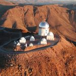 The Blanco telescope in Chile as seen from the air. Credit: NOAO/AURA/NSF