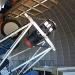 The Dark Energy Camera, mounted on the Blanco telescope in Chile. Credit: Dark Energy Survey Collaboration