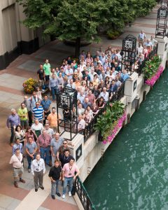 About 100 scientists attended the Tevatron reunion at the recent ICHEP conference. Photo: Reidar Hahn