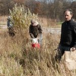 Volunteers at Fermilab's annual Prairie Seed Harvest.