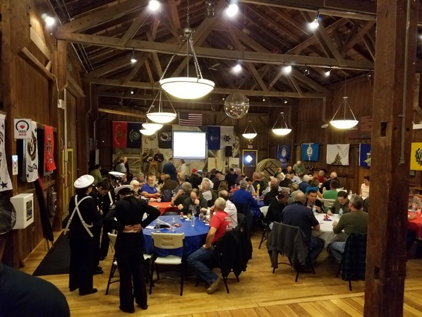 More than 100 turned out for Fermilab's 10th annual Veterans Day celebration. Photo courtesy of Joseph Morgan Sr.