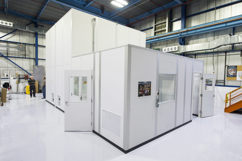 The cleanroom in Lab G will be used in the development of SuperCDMS detectors. Photo: Reidar Hahn