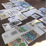 Urban Sketchers sketchbooks