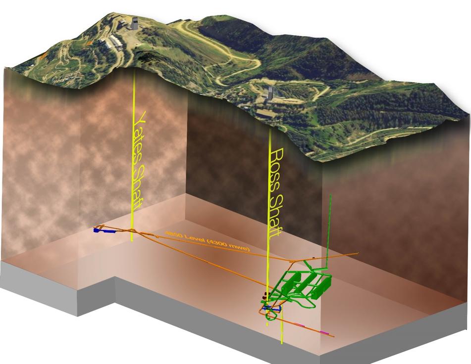 Contract to design rock conveyor for neutrino experiment