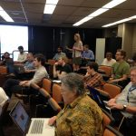"""Question time at the LArSoft Workshop"" by Katherine Lato"