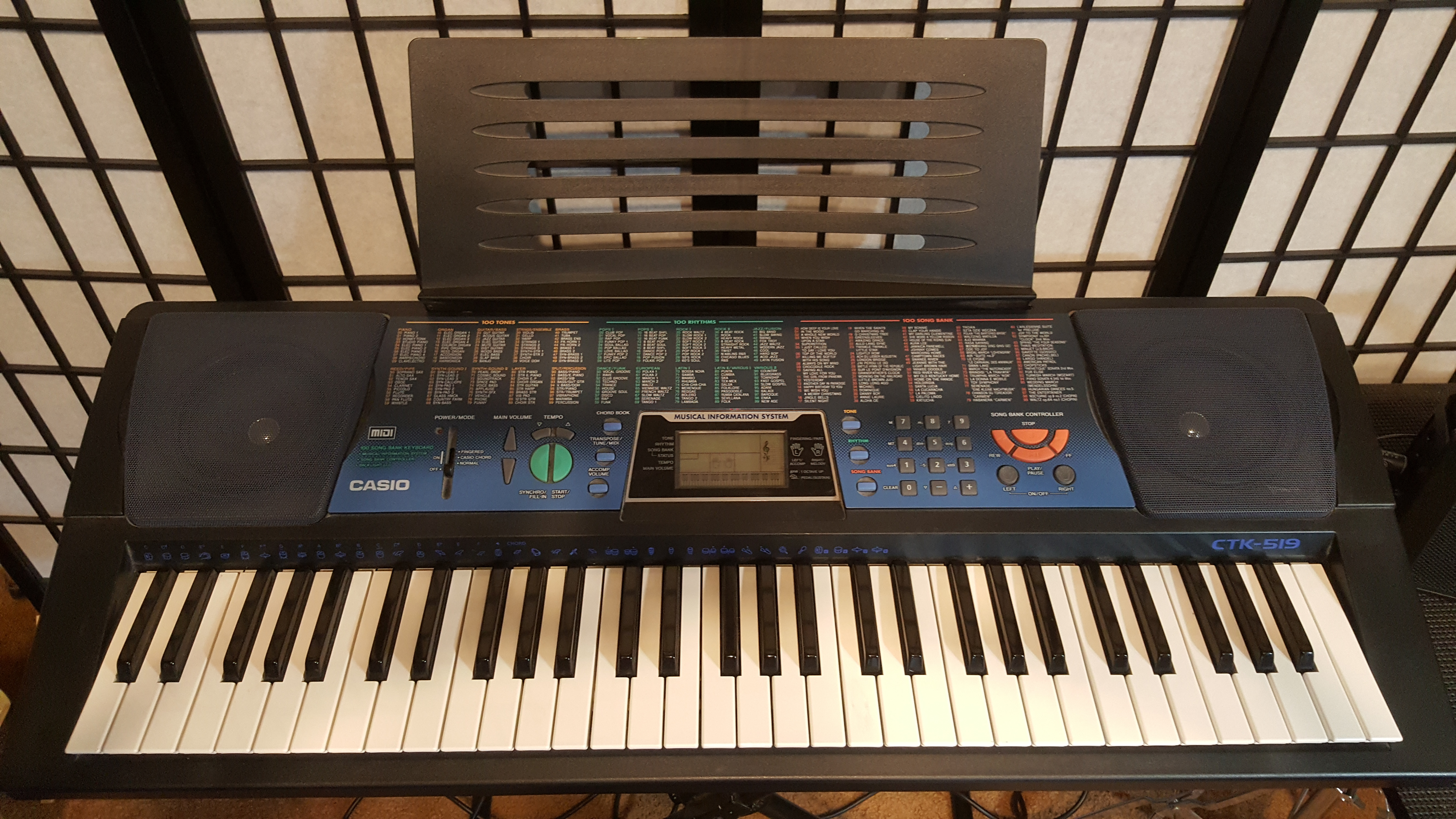 For Sale Casio Ctk 519 Electronic Keyboard News