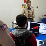 """Scouts learning about metrology"" by Gary Teafoe"