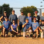 Final Force, 2017 Softball League champions. Photo courtesy of Chris Greer