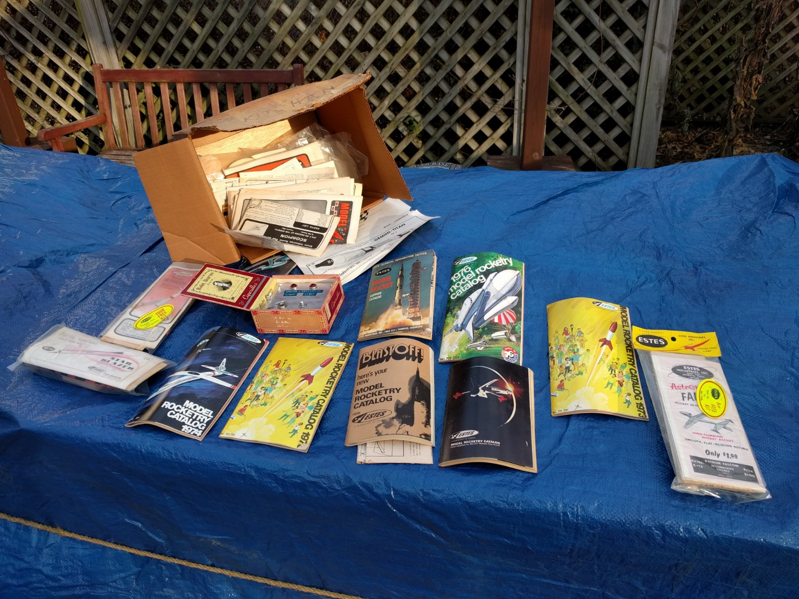 For sale: vintage Estes rocket materials | News