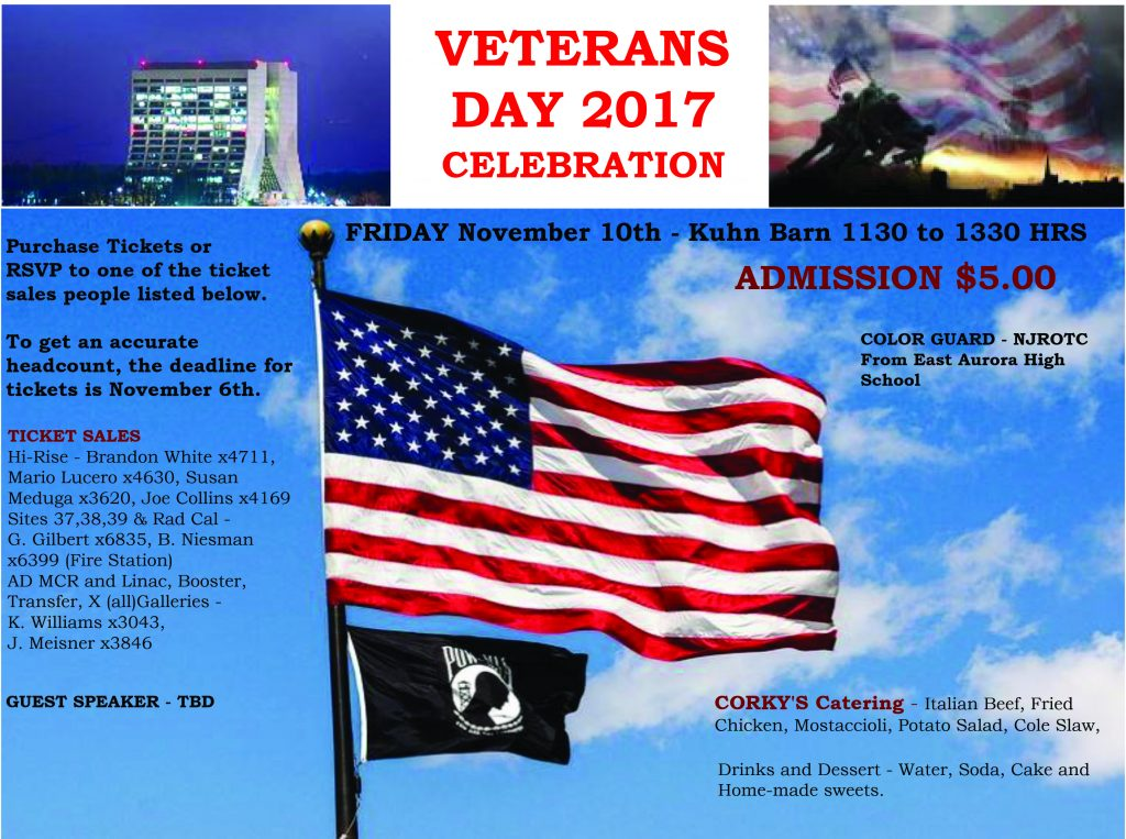 Annual Veterans Day Luncheon On Nov 10 Rsvp By Nov 6 News