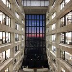 """Sunset at Wilson Hall"" by David Caratelli"