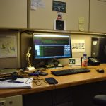 """A typical graduate student office in Wilson Hall"" by Prabhjot Singh"