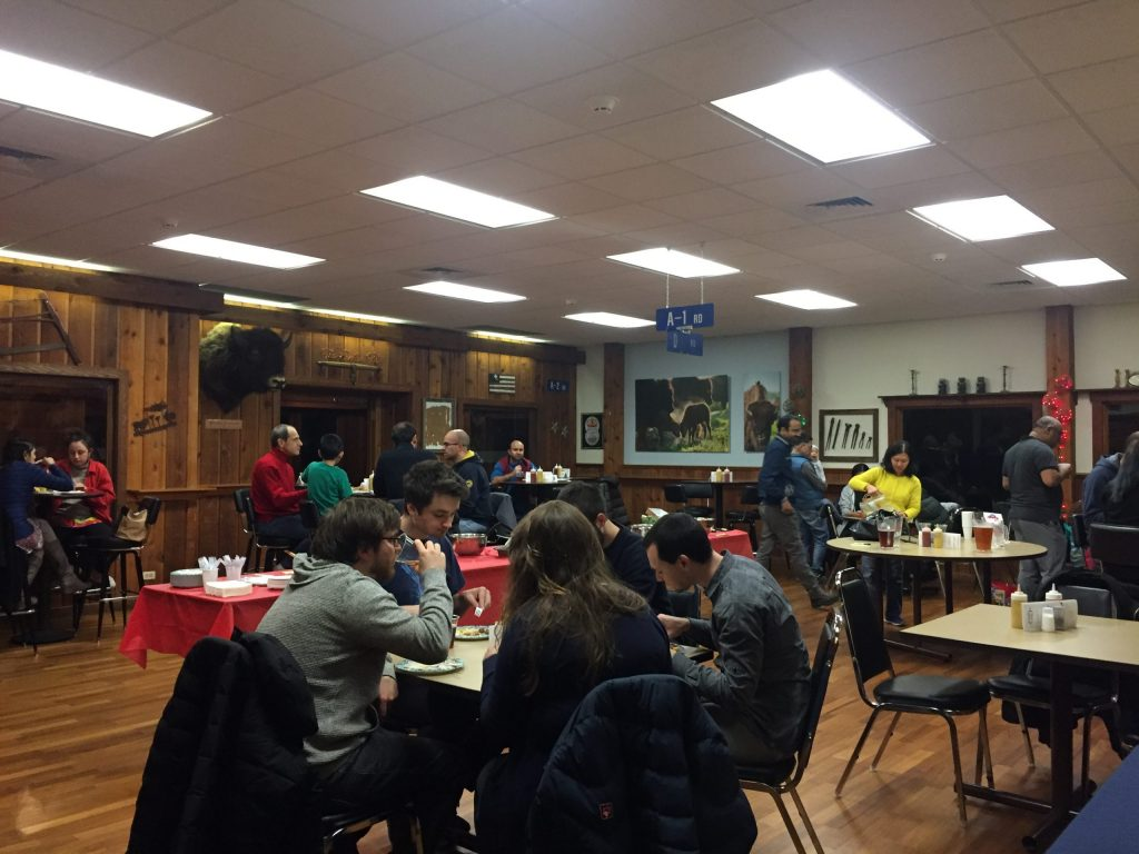 The FSPA hosted a Thanksgiving potluck this year. Photo: Monica Nunes