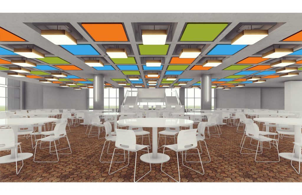 Wilson Hall Cafeteria Ceiling Improvements News