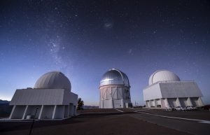 The Cerro Tololo Inter-American Observatory in Chile houses the Dark Energy Camera. Photo: Fermilab
