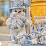 Who says you have to put away all your holiday décor. It's still winter! You'll see this little snowman inside SiDet. Photo: Leticia Shaddix, everyday objects