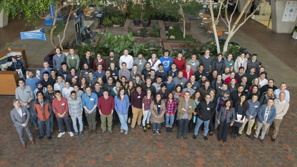 Students from the CMS experiment worldwide convened last week at Fermilab for the eighth annual five-day intense CMS Data Analysis School, hosted by the LHC Physics Center. Photo: Reidar Hahn