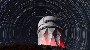 Kitt Peak National Observatory in Arizona will soon house the Dark Energy Spectroscopic Instrument. Photo courtesy of Lawrence Berkeley National Laboratory