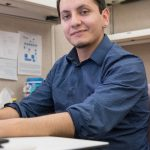 When he isn't developing software develop for Fermilab, Felix Sotres is active in STEM outreach. Photo: Reidar Hahn