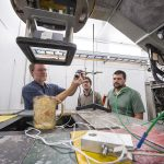 Innovation often appears when you aren't expecting it. In a recent test of Fermilab's new A2D2 accelerator, an IARC group boiled a cup of water using the machine, and they discovered something scientifically and olfactorily delicious. Photo: Reidar Hahn and Dynamo Brando