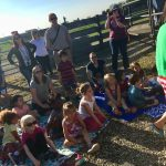Children learn all about the lives of bison. Photo: Jessica Jensen