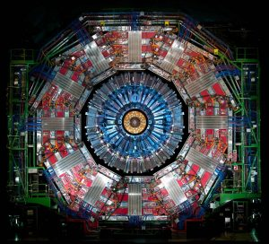 The CMS detector at CERN recently observed a rare type of Higgs boson decay. Photo: CERN