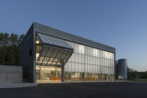 The Short-Baseline Near Detector building was recently recognized for two architecture awards. Photo: James Steinkamp