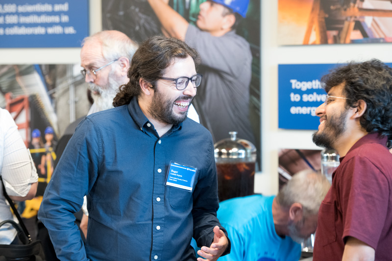The Users Meeting is a good time to catch up with colleagues you don't see often. Photo: Reidar Hahn