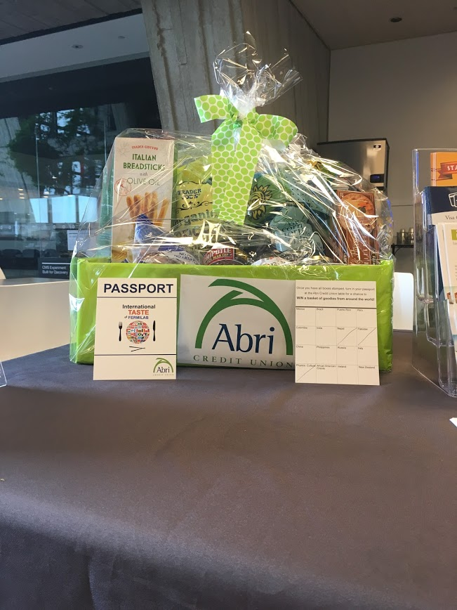 Special thanks to Sheryl Rentz and Abri Credit Union for providing the gift basket for raffle. Photo: Jessica Jensen
