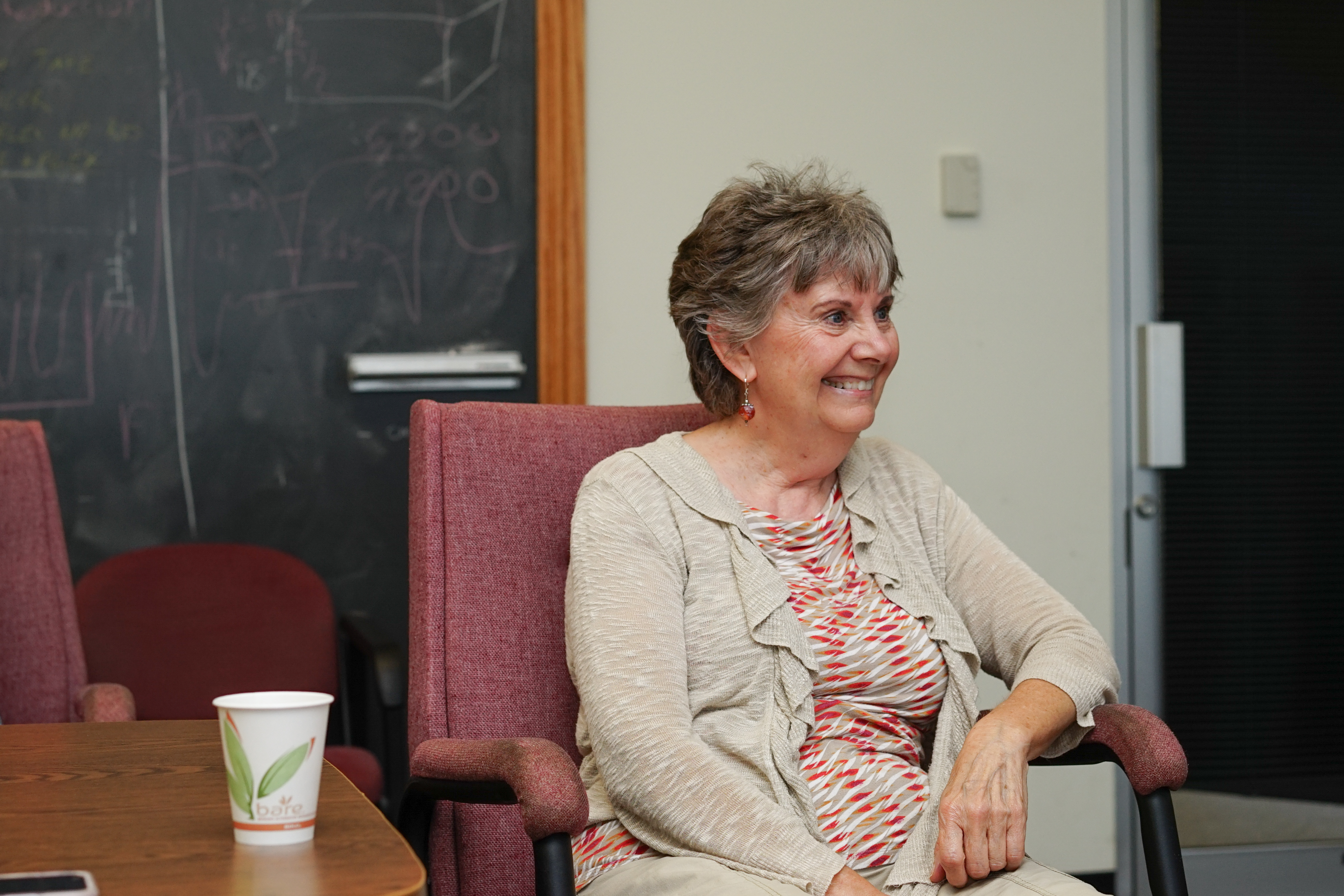 (2/4) Barb doesn't look too happy to retire. people, retirement Photo: Leticia Shaddix